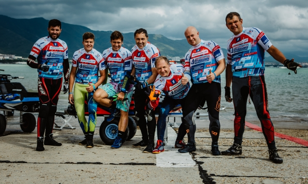 In the Championship of Russia on aquabike in Gelendzhik have