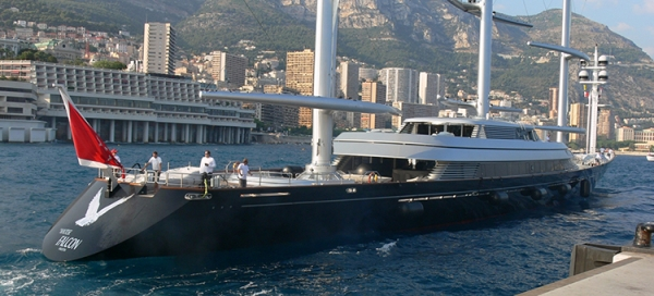 Flying the Maltese Falcon | | Your world of yachts