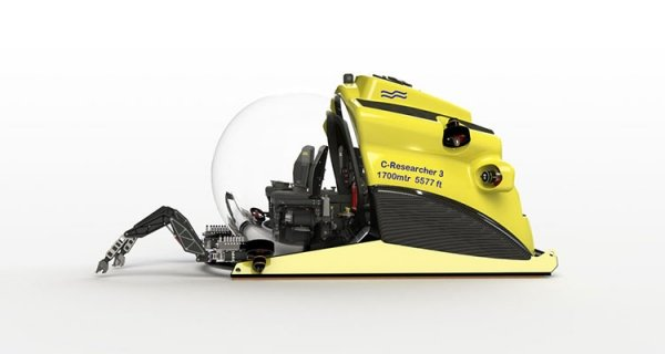 Wondrous Deep Water Apparatus From U Boat Worx Can Dive To 1700 Evergreenethics Interior Chair Design Evergreenethicsorg