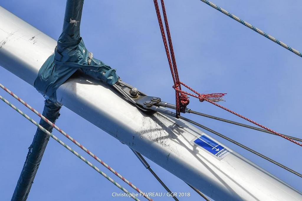 GOLDEN GLOBE RACE: Passion for rigging