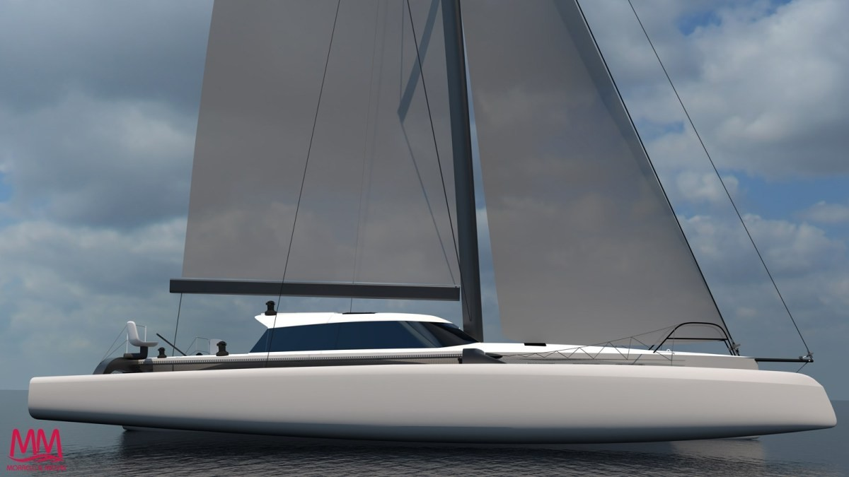 New trimaran from Morelli and Melvin