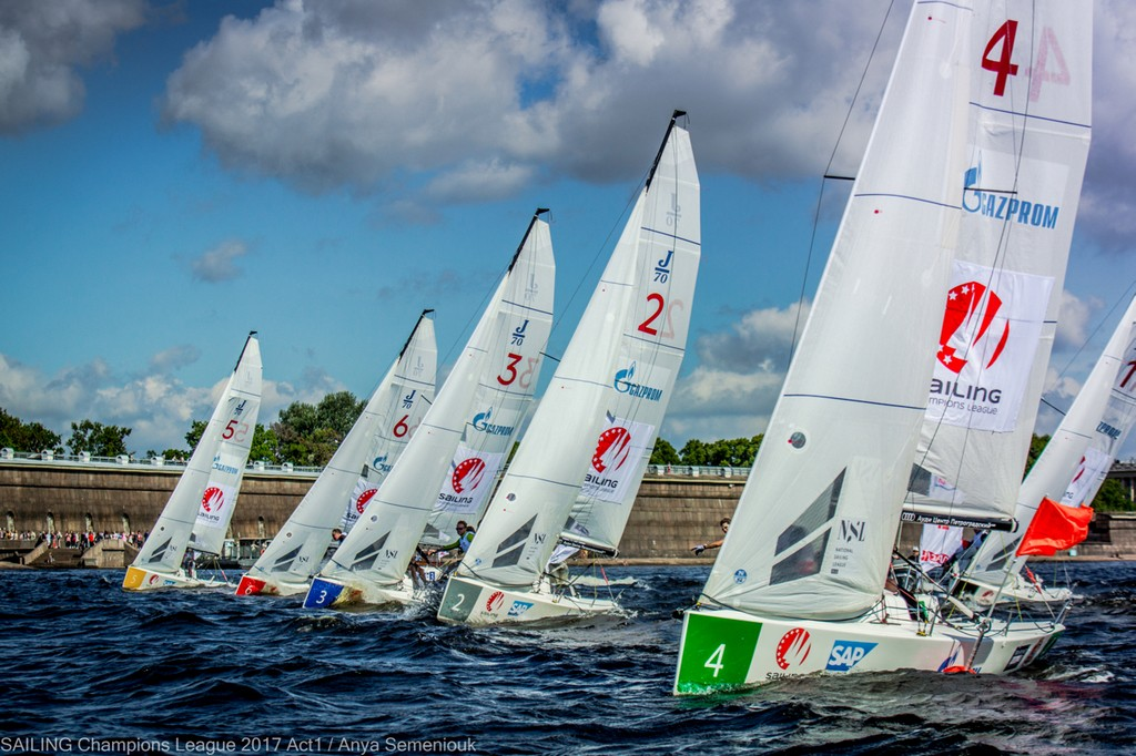 Sailing Champions League arrives in St. Petersburg