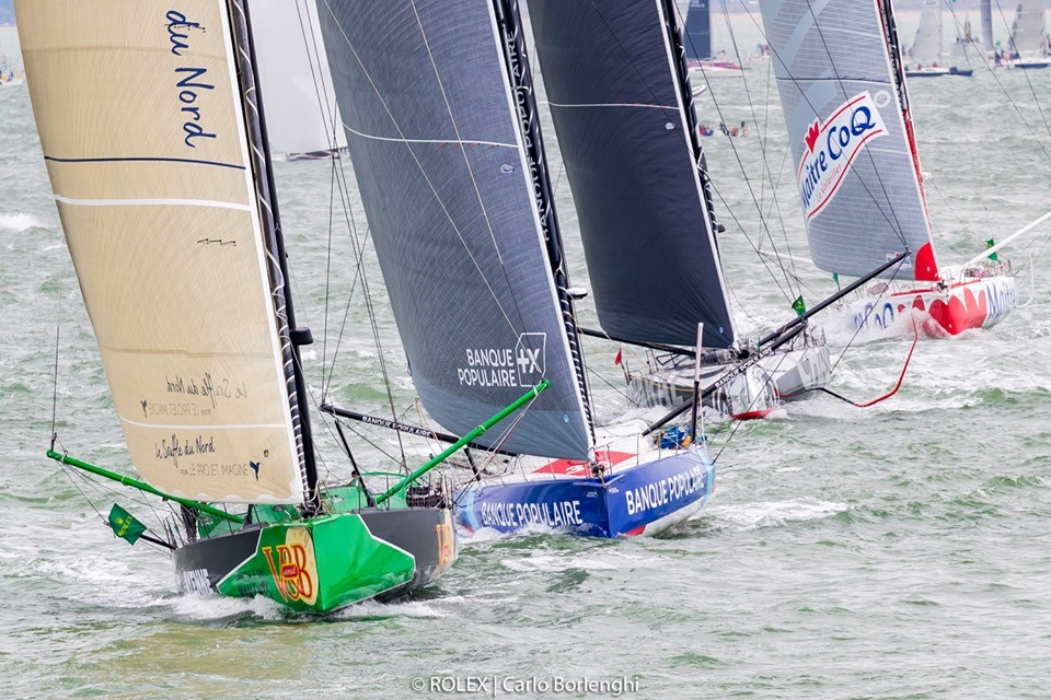 Rolex Fastnet Race Started