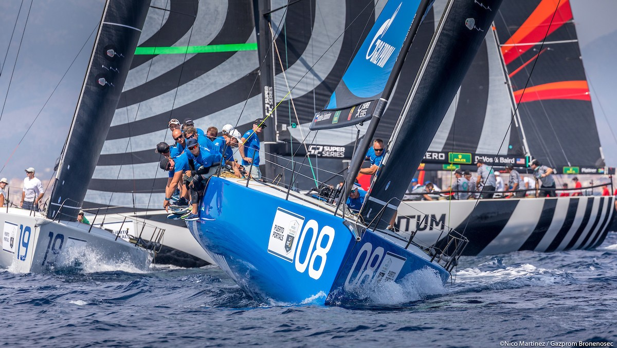 """Battleship"" gets the bronze medal of the world championship TP52 in Spain"
