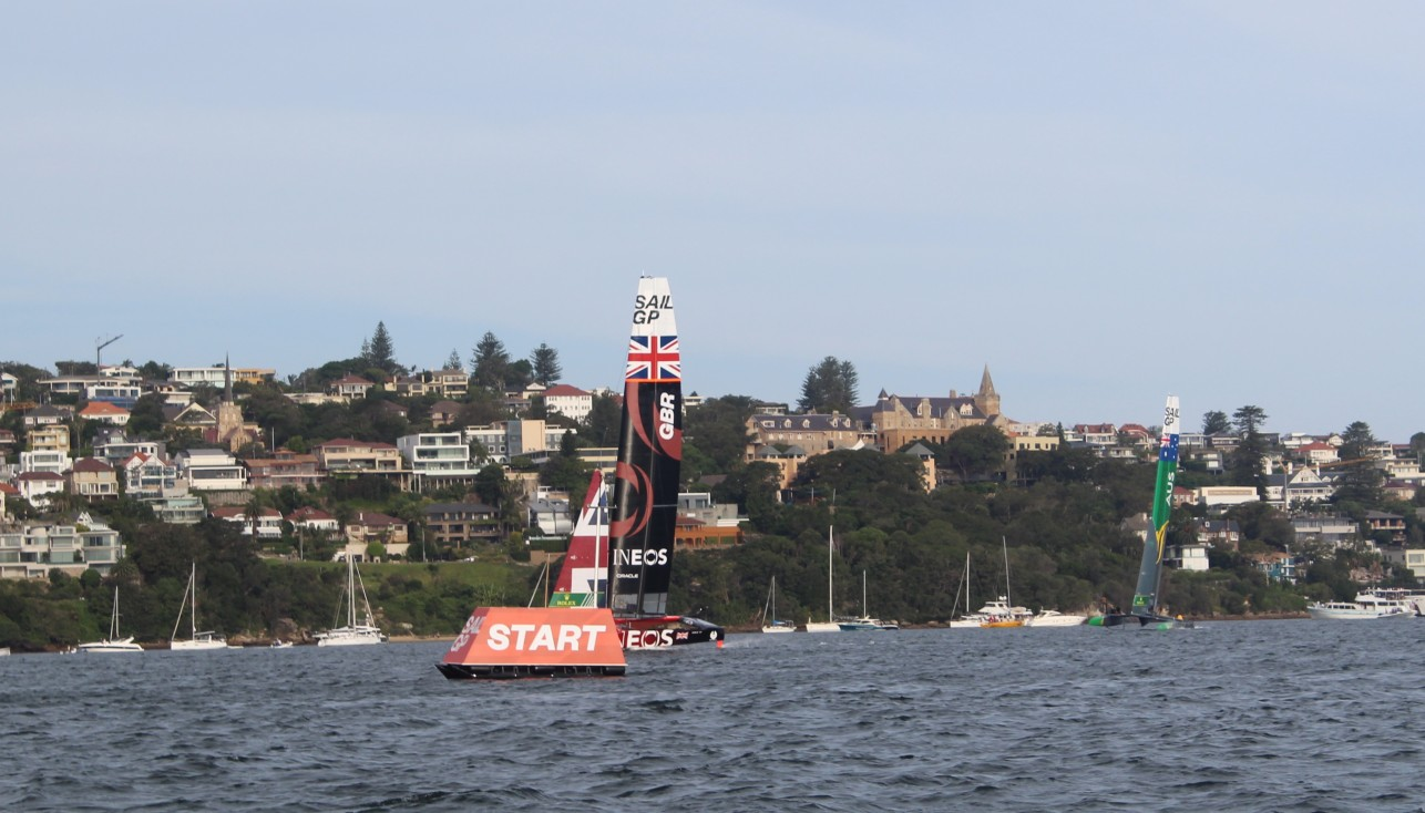 Sail GP - Confident victory of the British!
