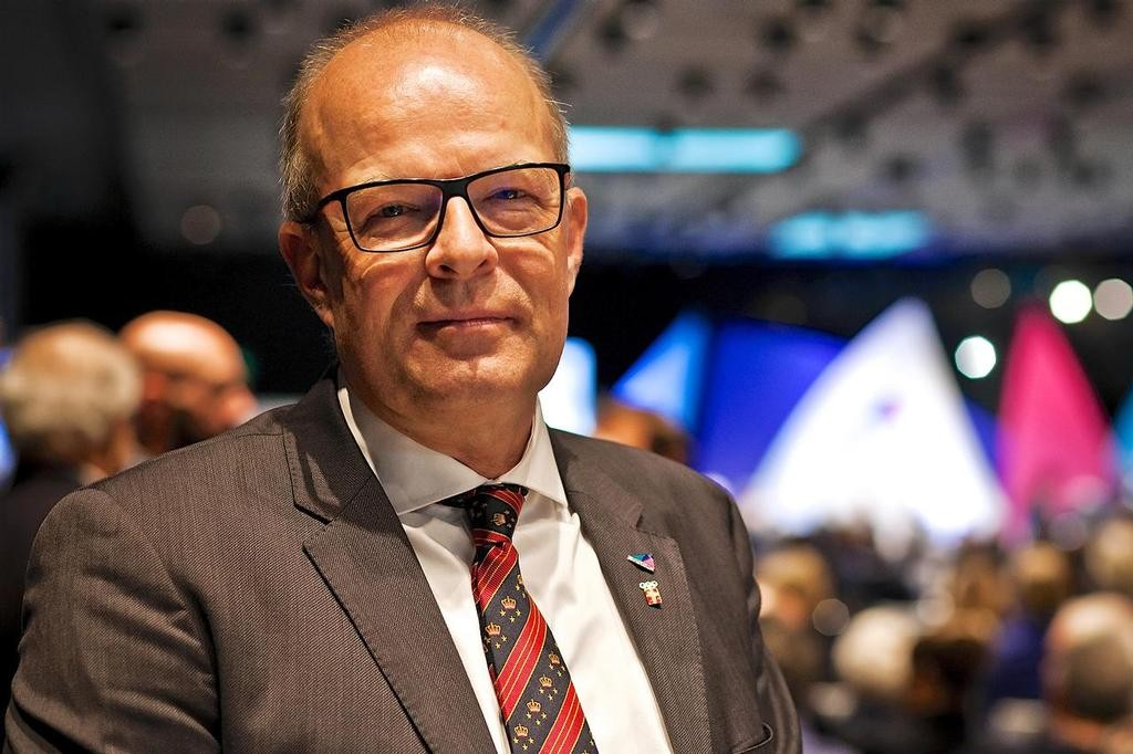 World Sailing President Mr. Kim andersen