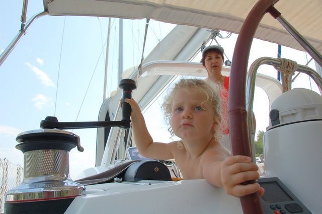 Oceanis 50 is made for the sea, not the marina