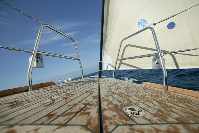 Tank of sailing yacht Beneteau First 50
