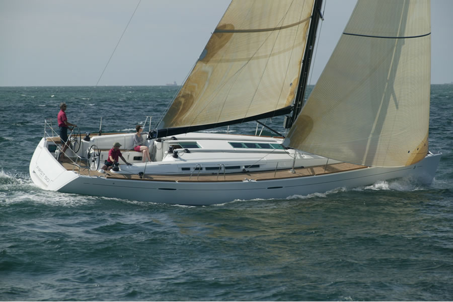 First 50 - exclusive sailing pleasure